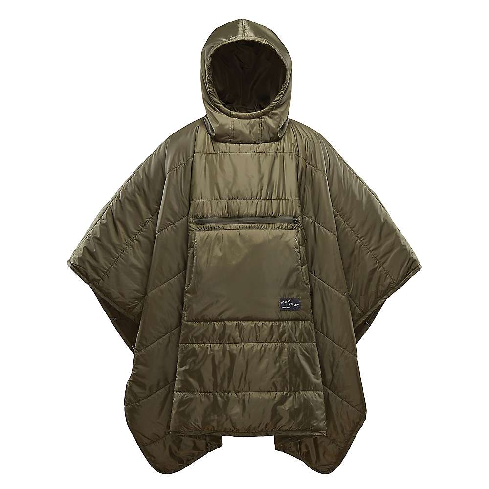 Therm-a-Rest Honcho Poncho - One Size - Olive