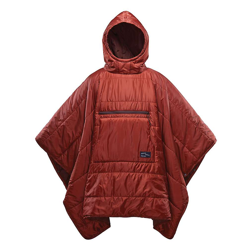 Therm-a-Rest Honcho Poncho - One Size - Rust