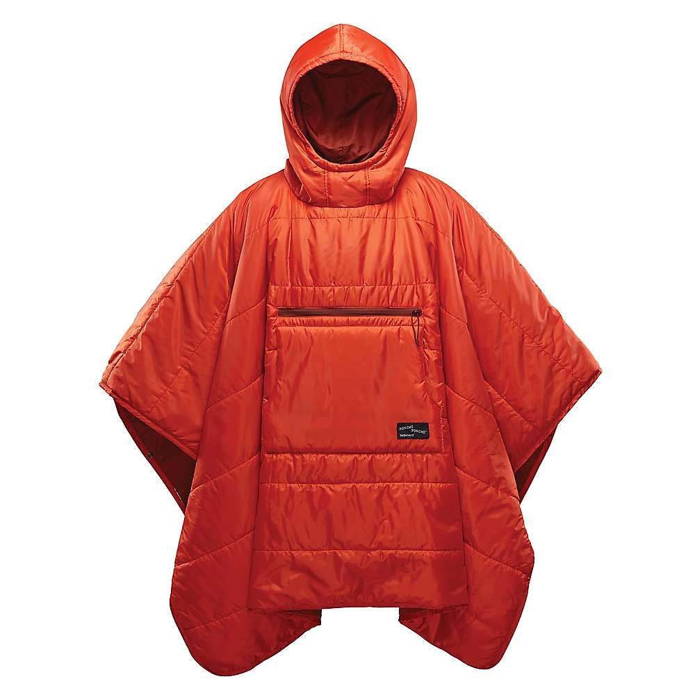 Therm-a-Rest Honcho Poncho - One Size - Tomato