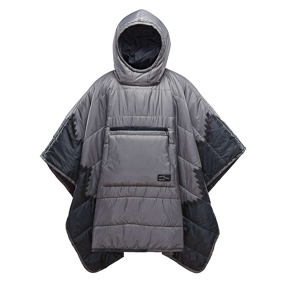 Therm-a-Rest Honcho Poncho - One Size - Slate Print