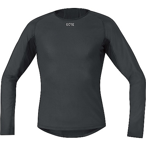 Gore Wear Men's M Gore Windstopper Base layer Thermo LS Shirt Black
