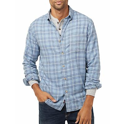 Faherty Pacific Long Sleeve Shirt - Light Blue Melange