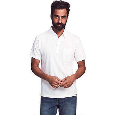 Faherty Sunwashed Polo Shirt - White