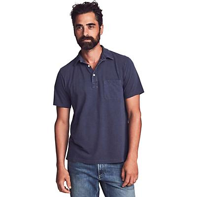 Faherty Sunwashed Polo Shirt - Navy