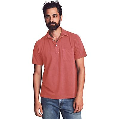 Faherty Sunwashed Polo Shirt - Hermosa Red