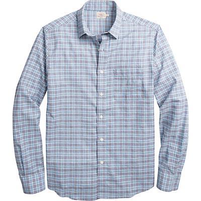 Faherty Ventura Long Sleeve Shirt - Light Blue Rose Heather