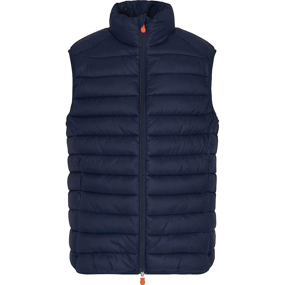 Save The Duck Men's Signature Lightweight Vest – Medium – 09 Navy Blue