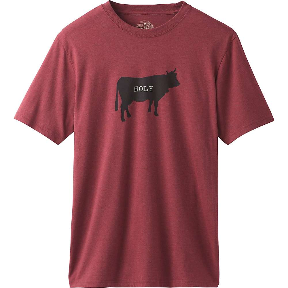 5a25f413b Prana Men's Holy Cow Journeyman T-Shirt - Rusted Roof Heather