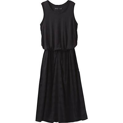 Prana Perry Midi Dress - Black - Women