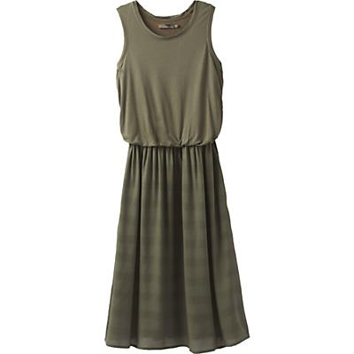 Prana Perry Midi Dress - Cargo Green - Women