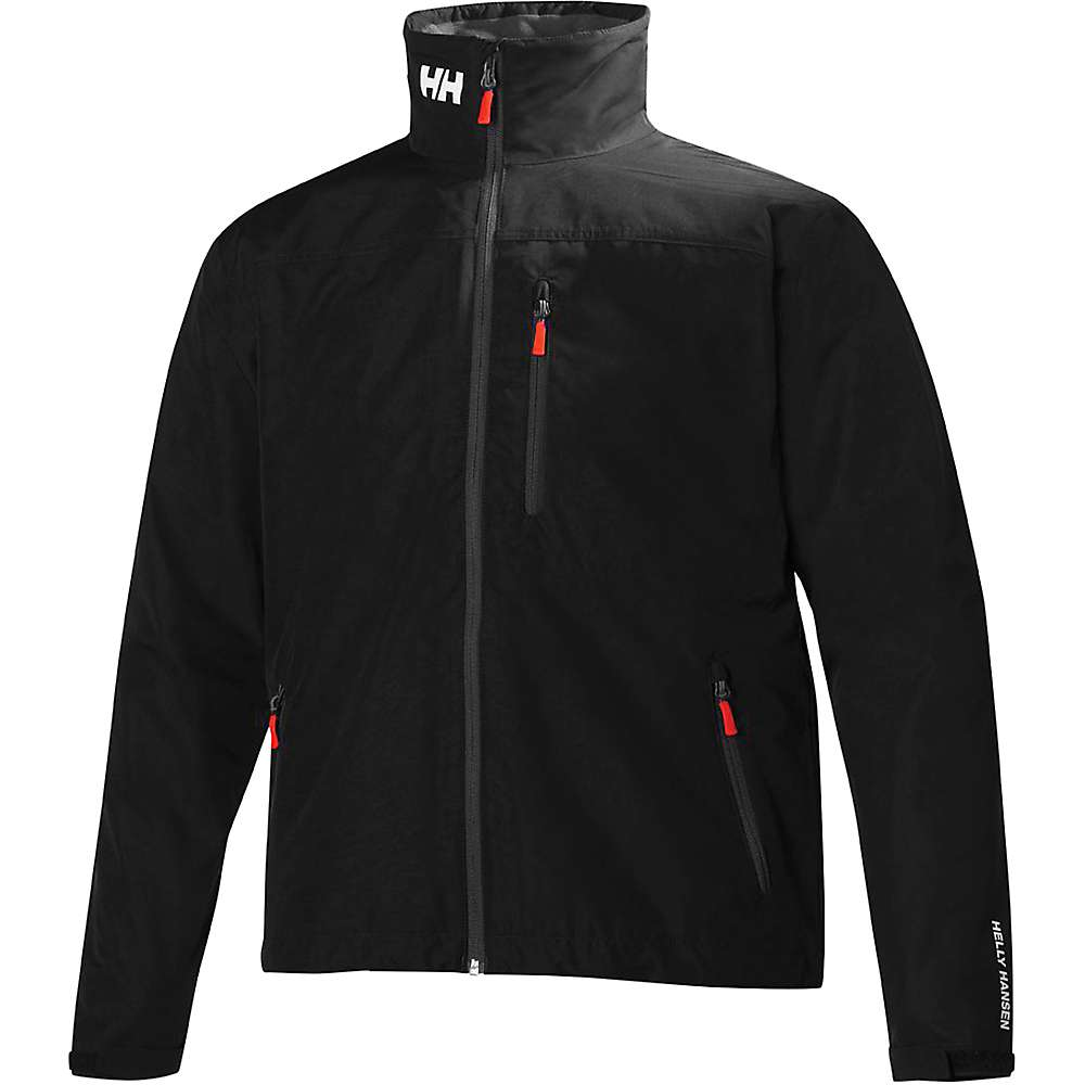 Helly Hansen Men's Crew Jacket - Small - BLACK