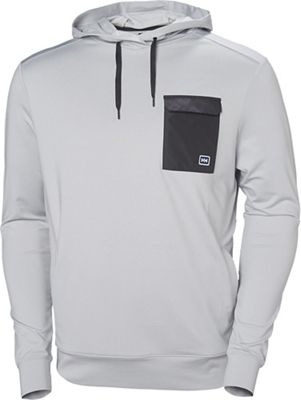 Helly Hansen Hyggen Light Hoodie - Small - Grey Fog Melange