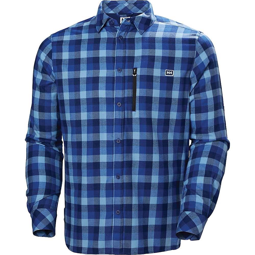 Helly Hansen Lokka Long Sleeve Shirt - CATALINA BLUE PLAID