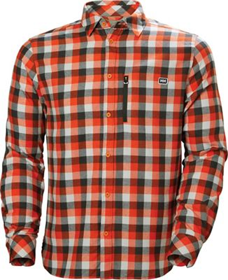 Helly Hansen Lokka Long Sleeve Shirt - Small - CHERRY TOMATO PLAID