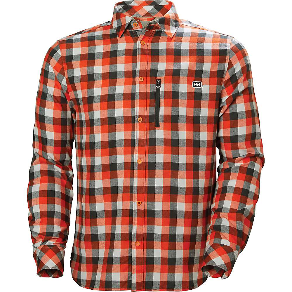 Helly Hansen Lokka Long Sleeve Shirt - CHERRY TOMATO PLAID
