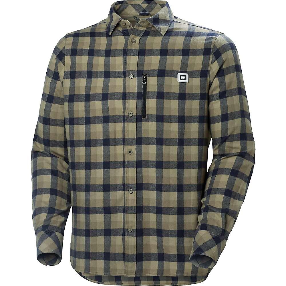 Helly Hansen Lokka Long Sleeve Shirt - FALLEN ROCK PLAID