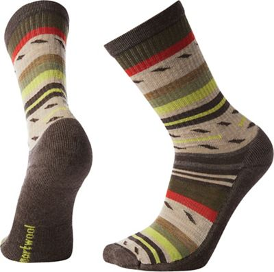 Smartwool Hike Light Margarita Crew Sock - Medium - Chestnut