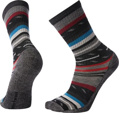 Smartwool Hike Light Margarita Crew Sock - Medium - Black