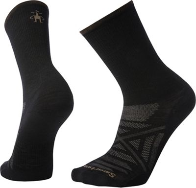 Smartwool PhD Outdoor Ultra Light Crew Sock - Medium - Black