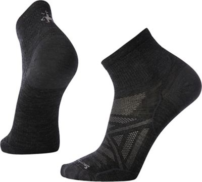 Smartwool PhD Outdoor Ultra Light Mini Sock - Medium - Charcoal