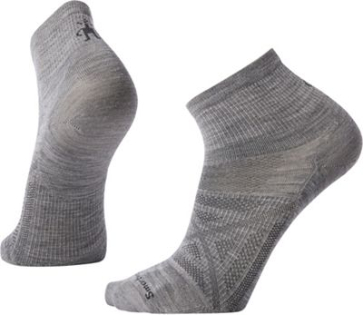 Smartwool PhD Outdoor Ultra Light Mini Sock - Medium - Light Gray