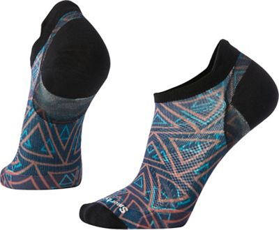 Smartwool PhD Run Ultra Light Print Micro Sock - Medium - Deep Navy