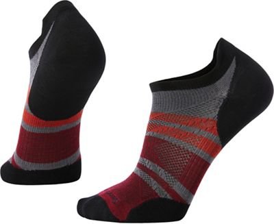 Smartwool PhD Run Ultra Light Pattern Micro Sock - Medium - Graphite