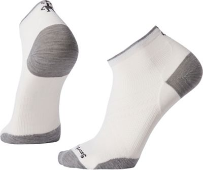 Smartwool PhD Run Ultra Light Low Cut Sock - Medium - White