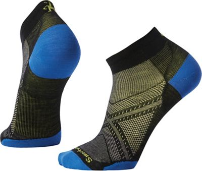 Smartwool PhD Run Ultra Light Low Cut Sock - Medium - Black