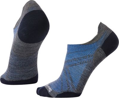 Smartwool PhD Run Ultra Light Micro Sock - Medium - Medium Gray