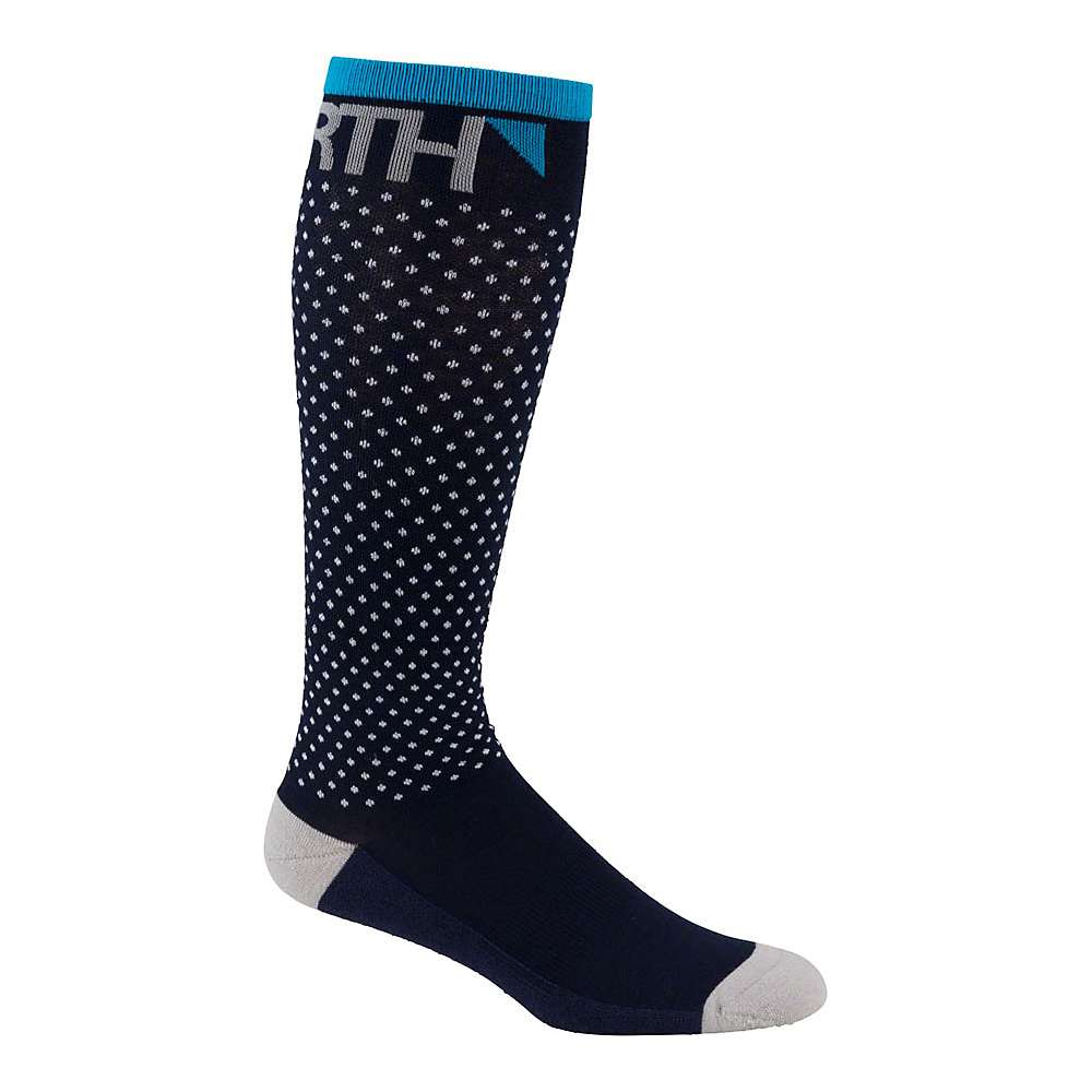 Image of 45NRTH Snowblind Knee High Sock - Small - Blue
