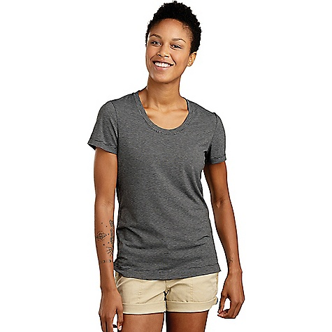 Toad & Co Women's Swifty Breathe Tee Black Stripe Toad & Co Women's Swifty Breathe Tee - Black Stripe - in stock now. FEATURES of the Toad & Co Women's Swifty Breathe Tee Quick-dry Lightweight Moisture-wicking UPF 25+ Oeko-Tex 100 certified fabric Bluesign certified fabric Polygiene odor control Fabric Details 76% Polyester, 19% Tencel, 5% Spandex