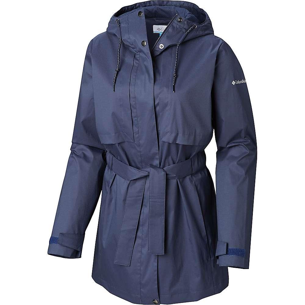 Columbia Women's Pardon My Trench Rain Jacket - Small - Nocturnal