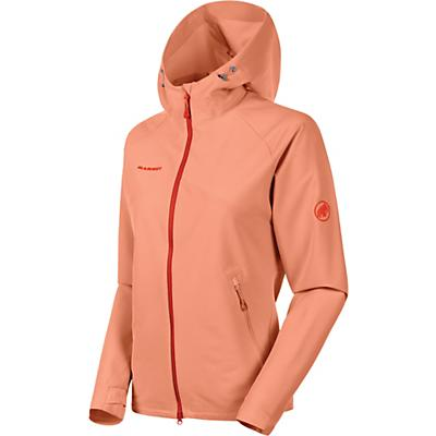 Mammut Macun Softshell Hooded Jacket - Baked - Women