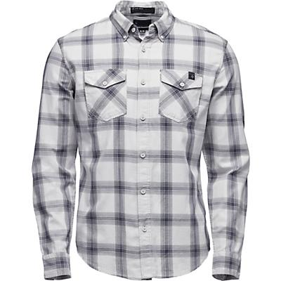 Black Diamond Benchmark LS Shirt - Alloy / Captain / Anthracite Plaid - Men