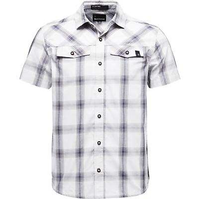 Black Diamond Benchmark SS Shirt - Alloy / Captain / Anthracite Plaid - Men