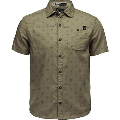 Black Diamond Solution SS Shirt - Sergeant Print - Men