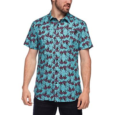 Black Diamond Solution SS Shirt - Gear Print - Men