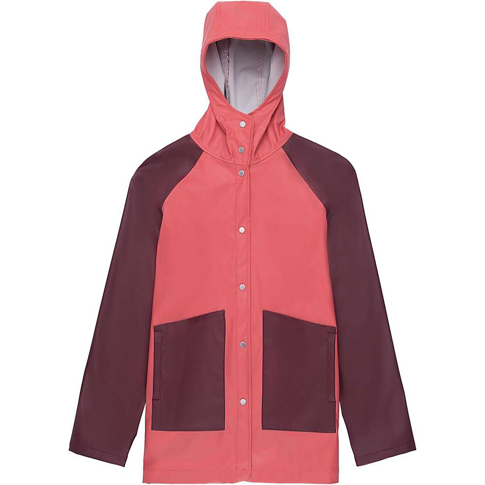 Herschel Supply Co Women's Classic Rain Jacket - Large - Mineral Red / Plum