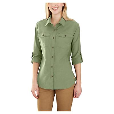 Carhartt Rugged Flex Bozeman Shirt - Oil Green - Women