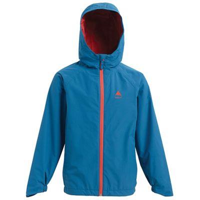 Burton Youth Windom Rain Jacket - Small - Blue Sapphire