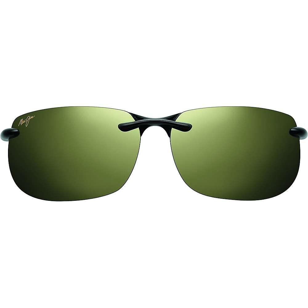 Maui Jim Banyans Polarized Sunglasses - Universal Fit - One Size - Gloss Black/Maui HT