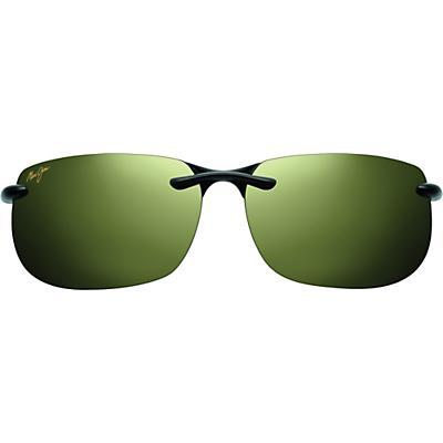 Maui Jim Banyans Polarized Sunglasses - Universal Fit - Gloss Black/Maui HT