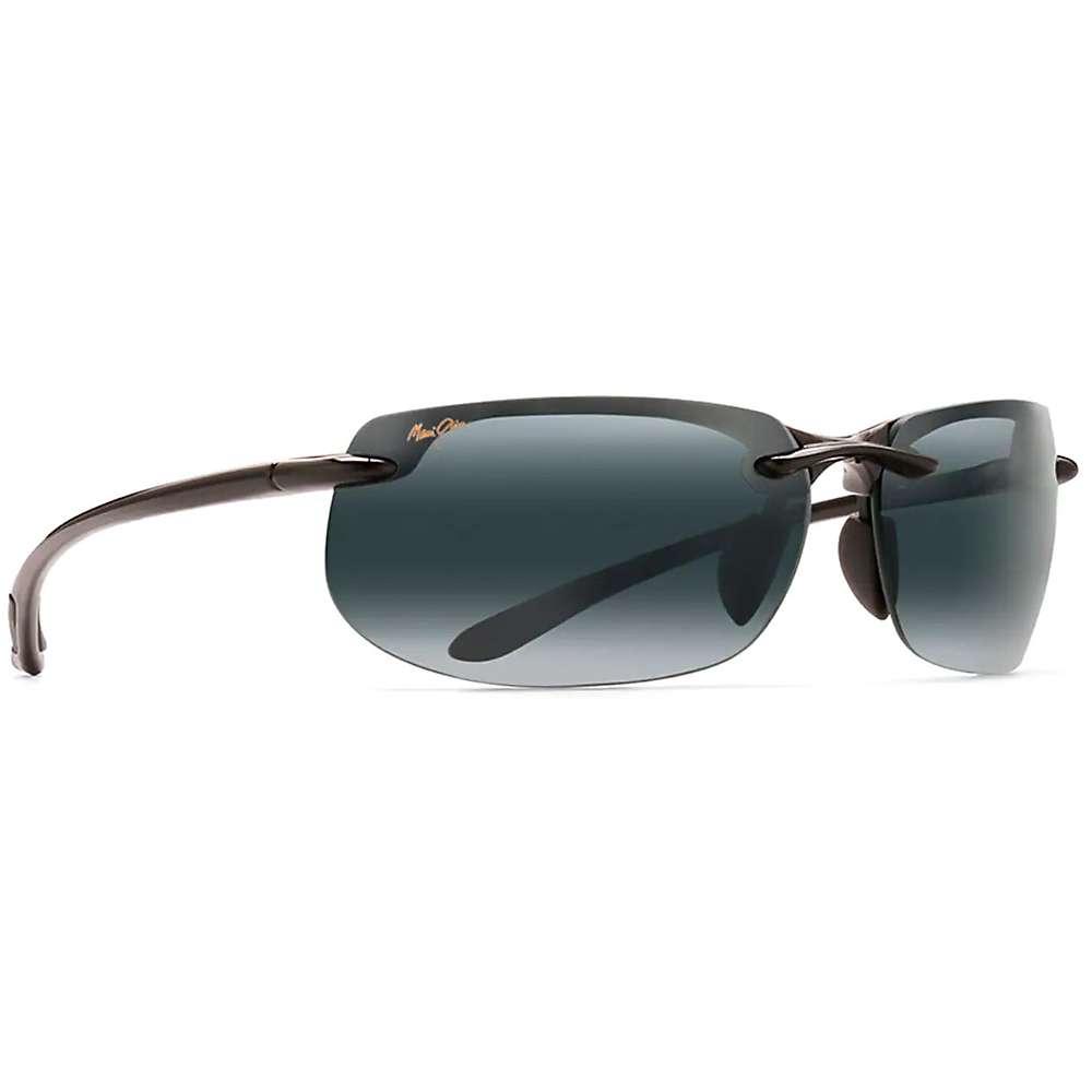 Maui Jim Banyans Polarized Sunglasses - Universal Fit - One Size - Gloss Black/Neutral Grey