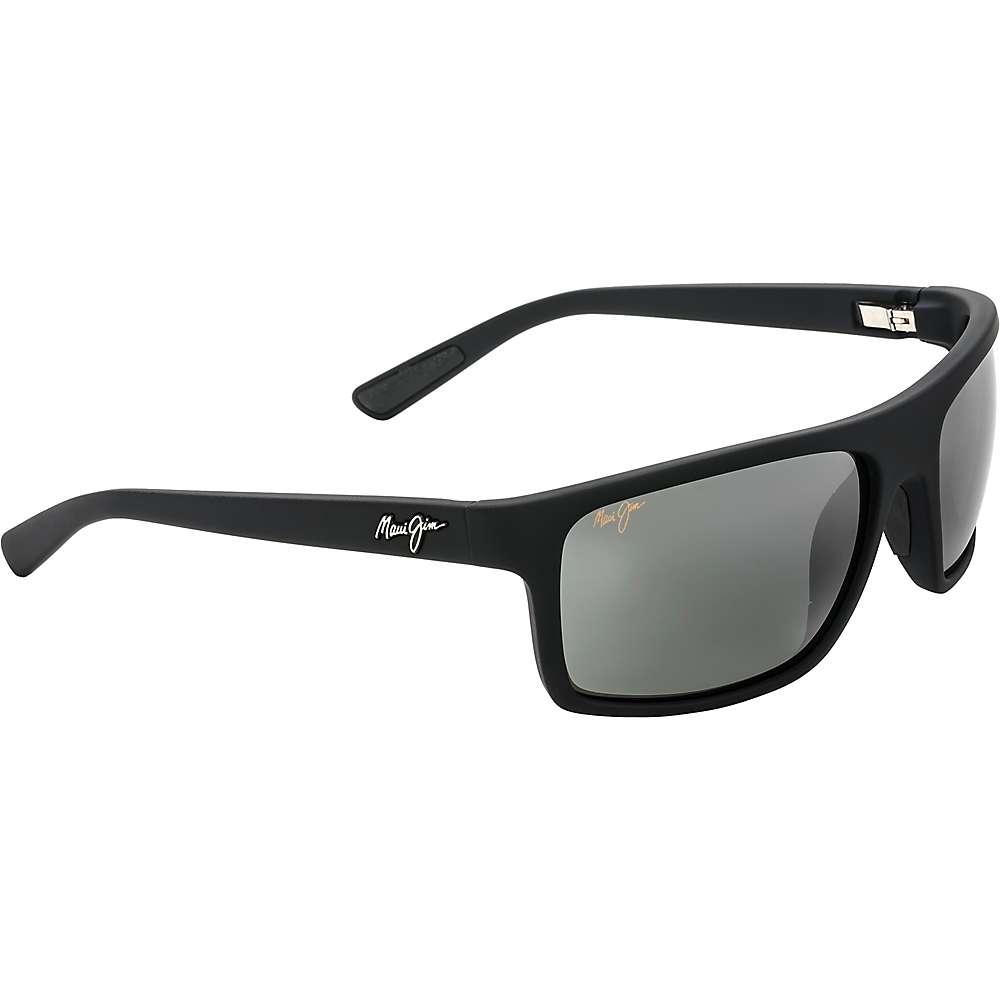 Maui Jim Byron Bay Polarized Sunglasses - One Size - Matte Black Rubber/Neutral Grey