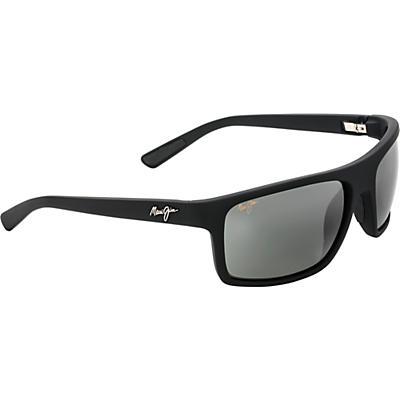 Maui Jim Byron Bay Polarized Sunglasses - Matte Black Rubber/Neutral Grey