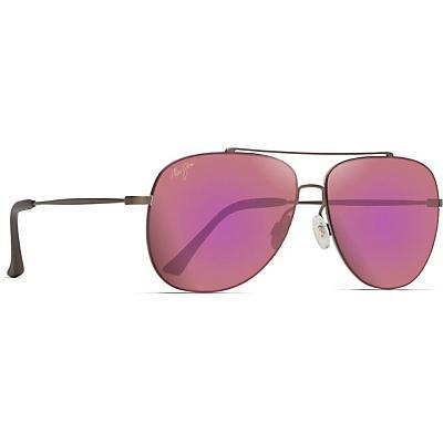 Maui Jim Cinder Cone Polarized Sunglasses - Satin Sepia/MAUI Sunrise