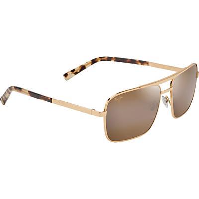 Maui Jim Compass Polarized Sunglasses - Gold/HCL Bronze