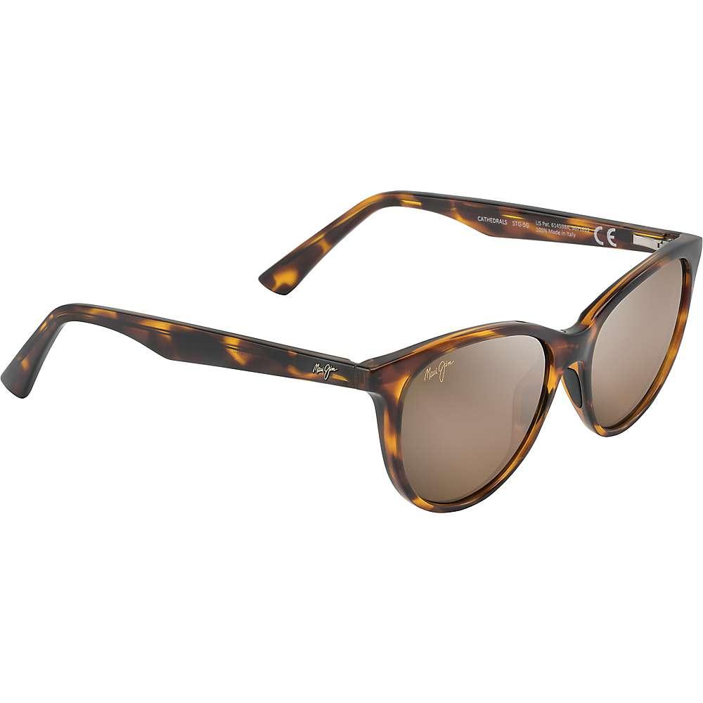 Maui Jim Cathedrals Polarized Sunglasses - One Size - Tortoise/HCL Bronze