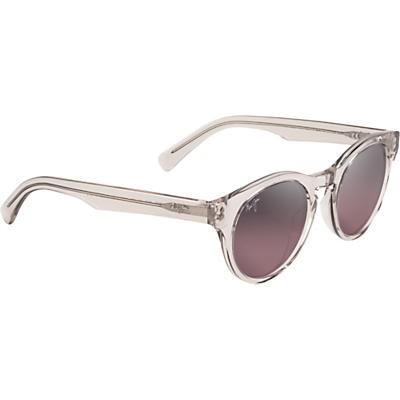 Maui Jim Dragonfly Polarized Sunglasses - Crystal with Hint of Pink/Maui Rose